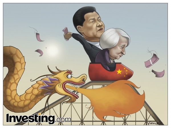 Investing.com comic 8.20 - China _ Fed Reserve